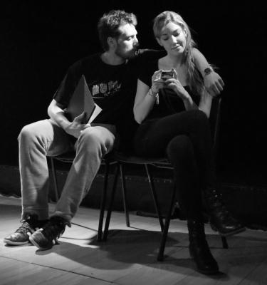 Pablo Sócrate y Laura Solé
